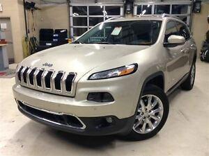 2014 Jeep Cherokee LIMITED.4X4.CUIR.SIÈGES CHAUFFANTS.DÉMARREUR