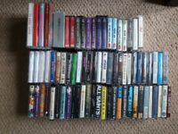 Large collection of original music cassettes