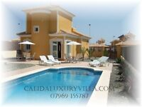3 Bed Luxury Spanish Villa With Private Pool Full Air Conditioning & Free Wi-fi. Holiday Rental.