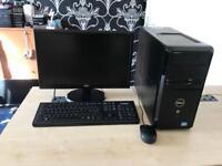 """Dell vostro 270 intel i3 3220 3.3ghz 8gb 500gb hdmi wifi 20"""" led refurbished full system"""