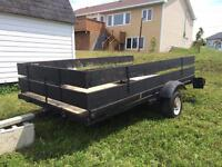 4x8 Utility Trailor Licensed till May 2016