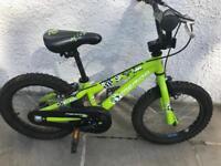 Boys Or Girls first bike. Has stabilisers.