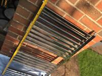 1000mm x 500mm Heated towel rail excellent condition