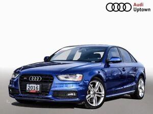 2016 Audi S4 Technik W/BLACK OPTICS