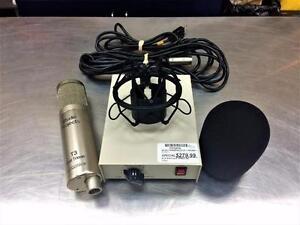 Micro condensateur STUDIO PROJECT T3 + préamp à lampe  **Excellente Condition** #F012510