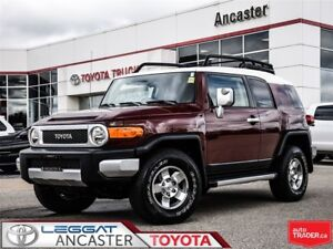 2008 Toyota FJ Cruiser OFFROAD PACKAGE WITH ONLY 68802 KMS!!