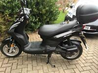 SYM symply 50 cc moped Only 80 miles covered