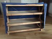 Habitat shelving unit with cover - very sturdy
