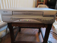 FUNAI VHS VIDEO CASSETTE RECORDER with remote and scart lead