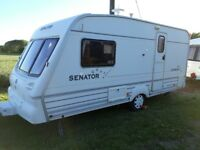 bailey senator 2 berth . 2001..end washroom