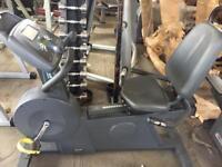 Pulse recumbent exercise bike