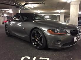 """BMW Z4. 2004. AUX. 18"""" alloys. HEADTURNER"""