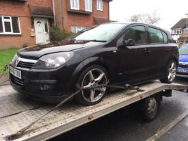Vauxhall Astra H Mk5 SXI xp breaking for parts spares
