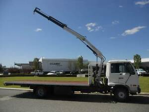 Nissan UD 5 Tonne Crane Truck. Welshpool Canning Area Preview