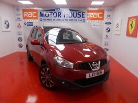 Nissan Qashqai N-TEC PLUS 2(7 SEATS)FREE MOT'S AS LONG AS YOU OWN THE CAR!!! (red) 2011