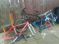 3 frames carrera 1 bike £35