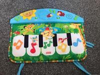 Fisherprice cot piano