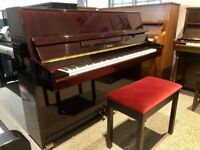 Stunning 2005 Schaefer 112 Dark Mahogany Upright Piano *FREE DELIVERY 2YR WARRANTY