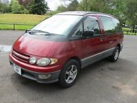 1996 TOYOTA LUCIDA 2.2 TD FACELIFT 8 SEATER VERY SOUGHT AFTER GOOD CON FULL MOT ANY TRIAL PX SWAPS