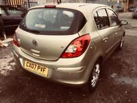 2007 vauxhal corsa 1.4 automatic 66k waranteed mls hpi clear rear sensors cruise control ac cd abs