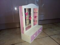 Girls Mirror with Drawers