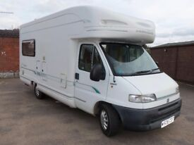BESSACARR E725 2000(W) 2.8JTD ONE OWNER 27000mls 4 Berth