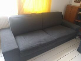 Practically new Ikea KIVIK Three-seat Sofa