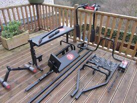 York 1001 Fitness / Weight Bench, Gym Equipment Machine, For Spares.