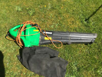 Powerbase garden vacuum