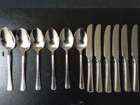24 piece cutlery set by Amefa- nearly new £10