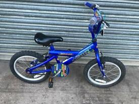 "Blazer Bumper Boys Bike, 16"" Wheels, Serviced. Free Local Delivery"