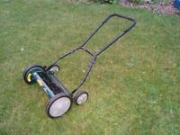 Yardworks Reel Lawnmower