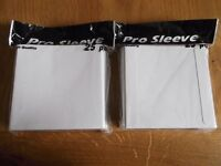 50 new shrink-wrapped PRO SLEEVE high quality cardboard CD/DVD sleeves/mailers