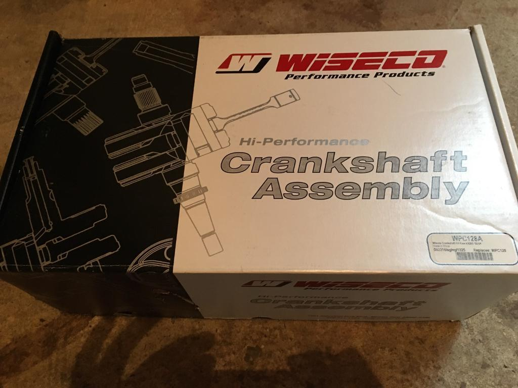 Kawasaki Kx250 Wiseco Crankshaft Engine Rebuild Kit Crank Bearings Wiring Harness Gaskets Kx 250 02 04