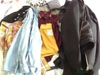 Job lot of stylish preppy smart and casual men's clothing