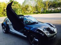 SMART Roadster Coupe, 2004, LAMBO DOORS, Semi-Auto, FSH, Extremely Rare,