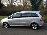 Vauxhall Zafira MPV 1.9 CDTi 16v SRi 6 speed diesel 7 SEATER 2008 MOT AUGUST 2018-VERY RELIABLE CAR