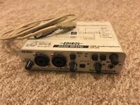 Edirol UA 25 USB audio and midi interface