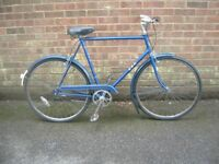 Vintage Blue BSA Gents Bike