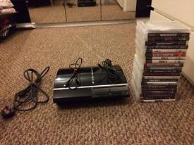 NEW PS3: 22 GAMES: 4 CONTROLLERS