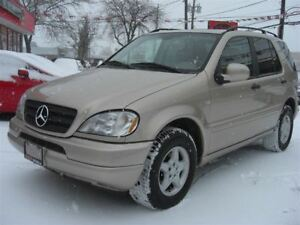 2001 Mercedes-Benz M-Class ML 320 Elegance 4WD *VERY CLEAN*
