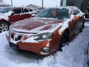 2005 Pontiac Grand Prix GT CALL 519 485 6050 CERTIFIED