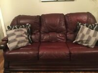 3 seat sofa and Chair
