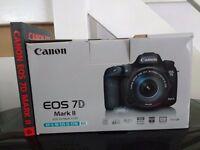 Canon EOS 7d mark ii + efs 55-250mm lens