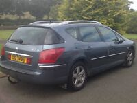 2006 Peugoet 407sw 1.6HDI, Exceptional car, only 46,000 genuine miles,