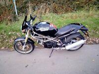For sale 1994 Ducati 600 Monster tested until June 2018