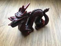 Red and black Chinese figure/ornament