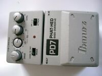 Ibanez PD7 Tone-lok Phat-Hed Bass overdrive stompbox/pedal/effects unit for bass guitar - Taiwan