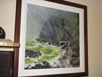 An original Painting of Blackhead Lighthouse at Whitehead - OPEN TO OFFERS