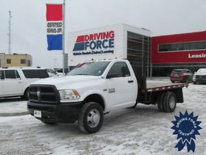2016 Ram 3500 ST 12 Ft Flat Deck Truck, 4x4, Regular Cab, 6.4L